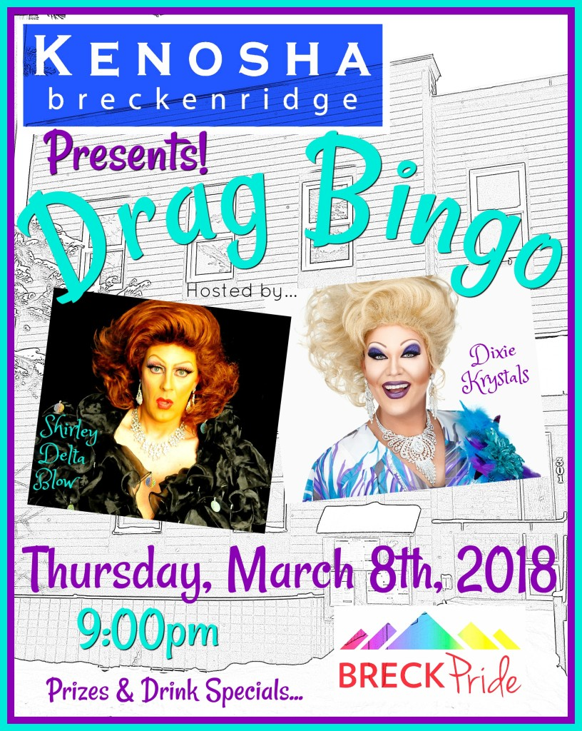 Drag Bingo Two 3-8-18